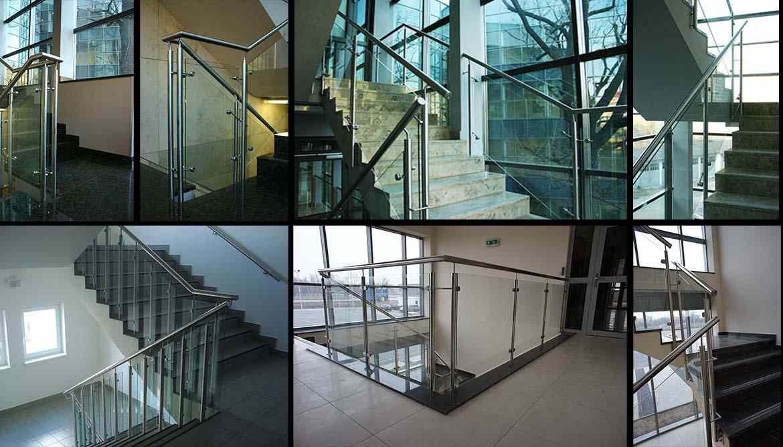 Panoramoca di ringhiere ringhiere a tutto vetro corrimano in vetro per scale - Corrimano in vetro per scale ...